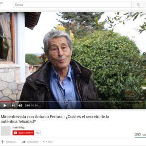 El secreto de la auténtica felicidad per Antonio Ferrara