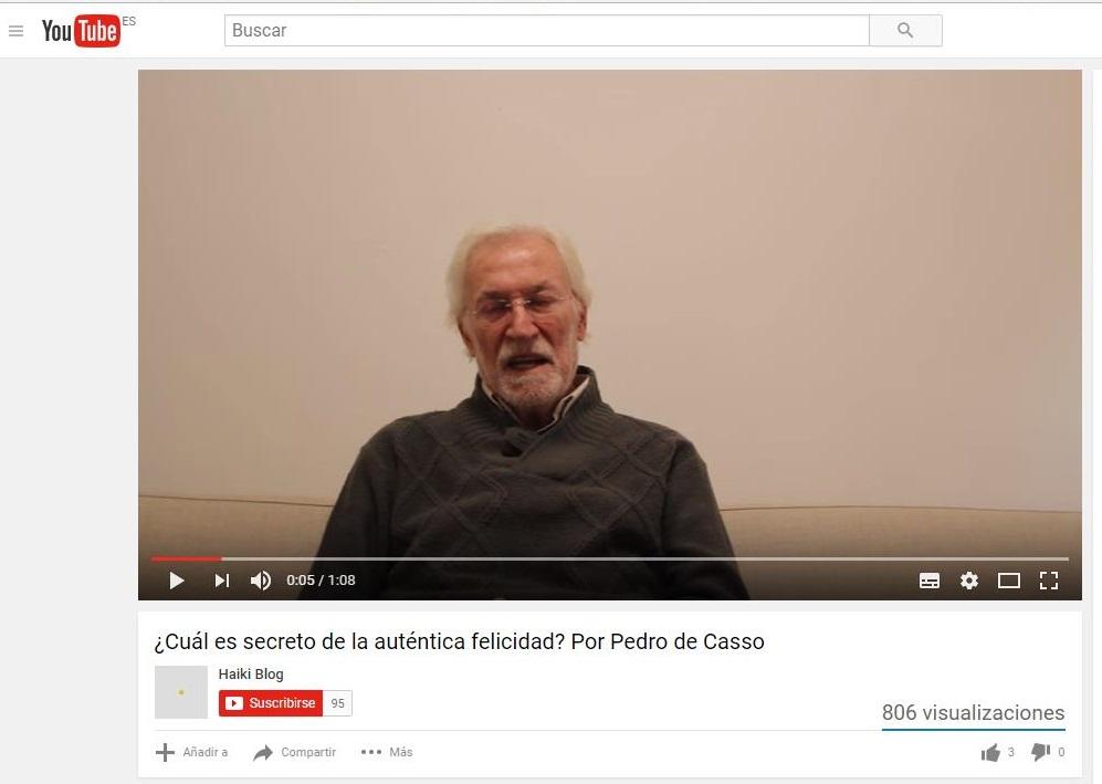 El secreto de la auténtica felicidad por Pedro de Casso